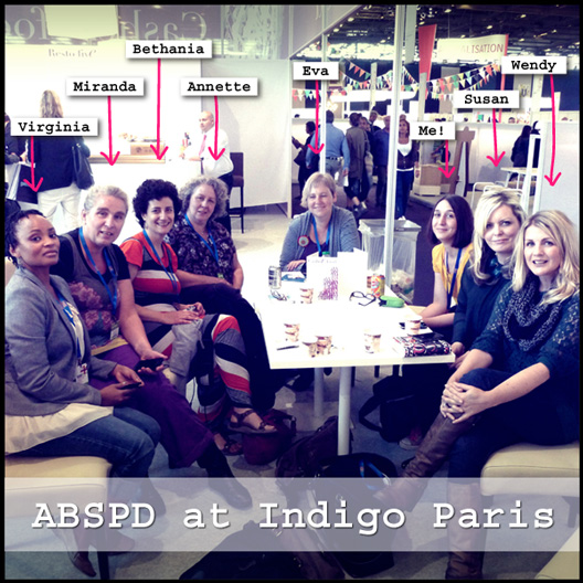 The Art & Business of Surface Pattern Design classmates at Indigo Paris | Pitter Pattern