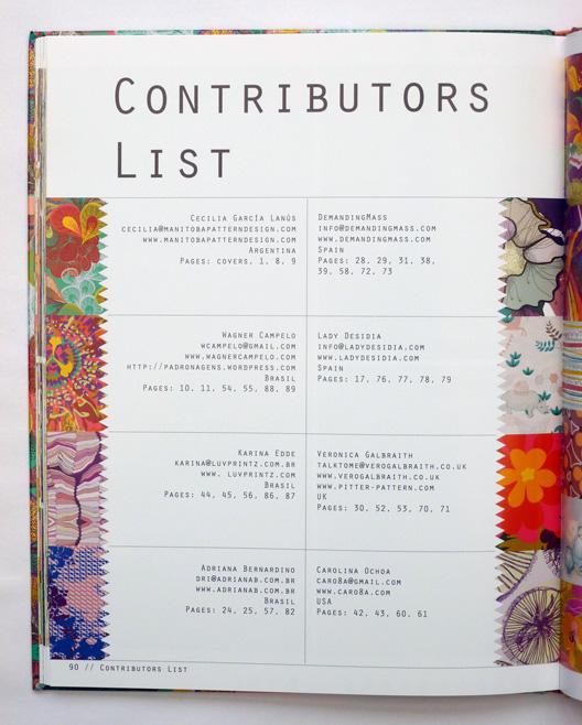 Veronica Galbraith on Texitura magazine [15] | Pitter Pattern