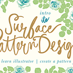 Intro to Surface Pattern Design: Learn Adobe Illustrator | Create Patterns with Bonnie Christine | Pitter Pattern