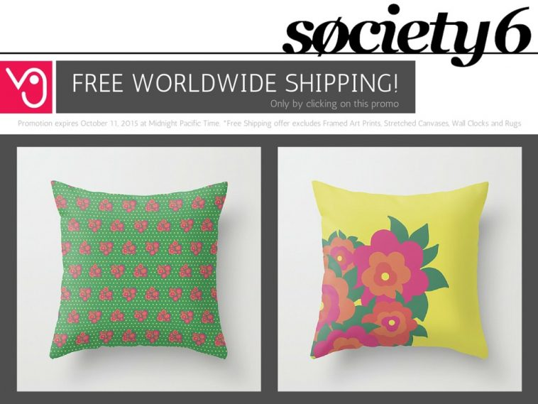 Veronica Galbraith on Society6 | Free Shipping [3] | Pitter Pattern