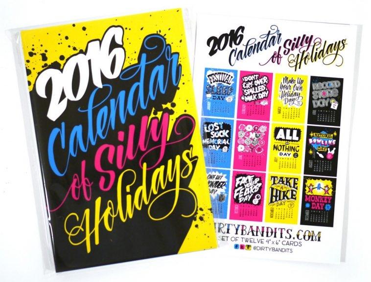 Annica Lydenberg Silli Holidays Calendar 2016 | Pitter Pattern