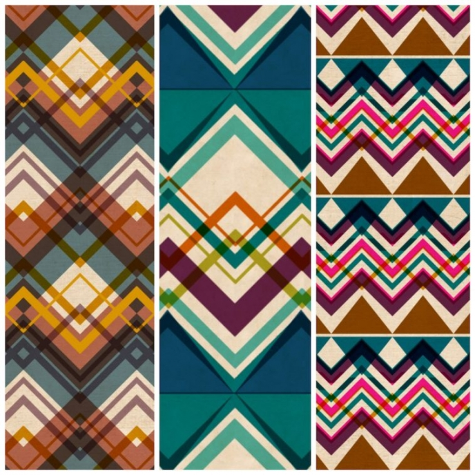 Laura Buchanan [Chevrons] on Pitter Pattern