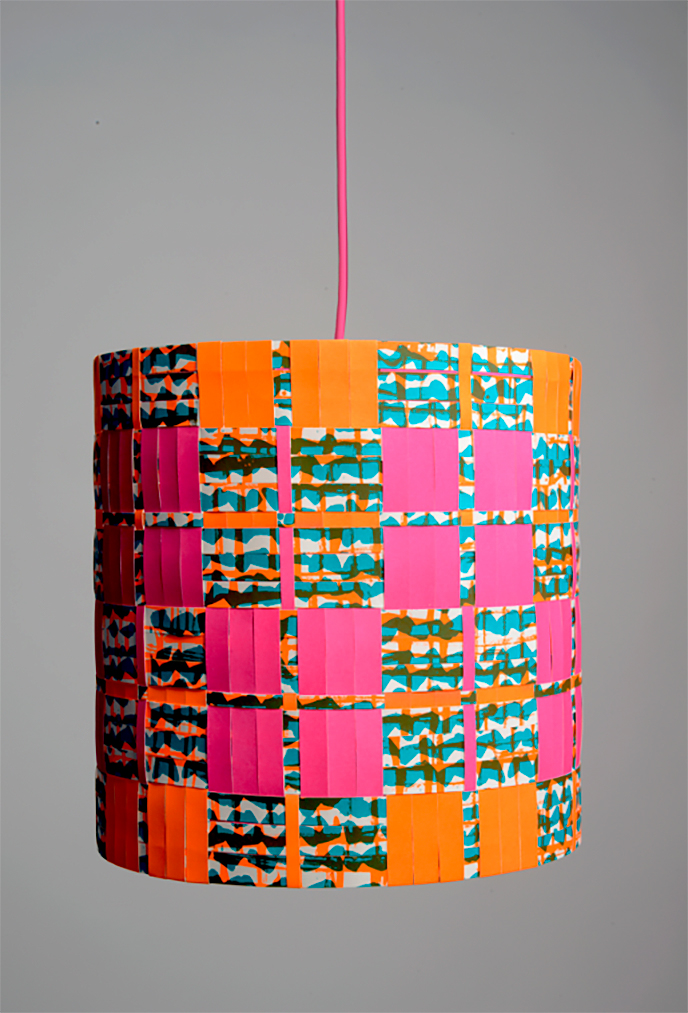 Laura Buchanan [lampshade] on Pitter Pattern