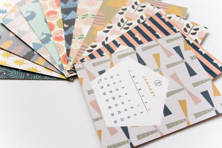 Lemonni Print & Patterns Calendar 2016   Pitter Pattern