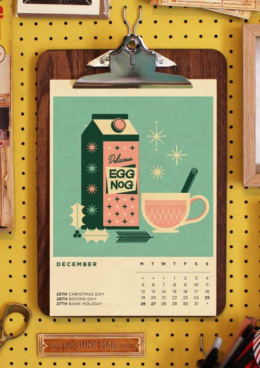 Telegramme Paper Co. Calendar 2016   Pitter Pattern