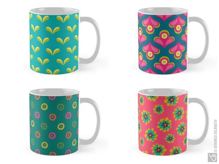 Veronica Galbraith • Surface Pattern Designer • Mugs • Redbubble