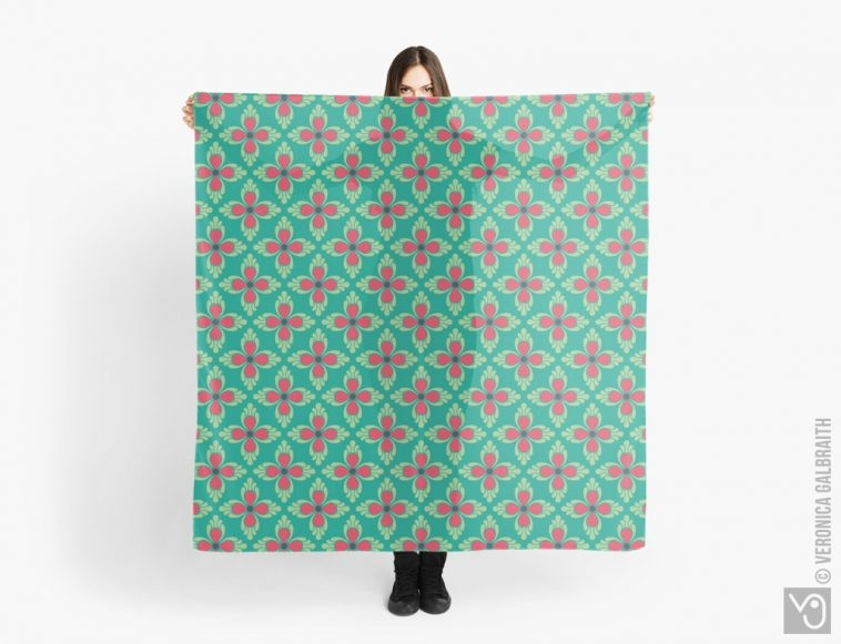 Veronica Galbraith • Surface Pattern Designer • Scarves • Redbubble