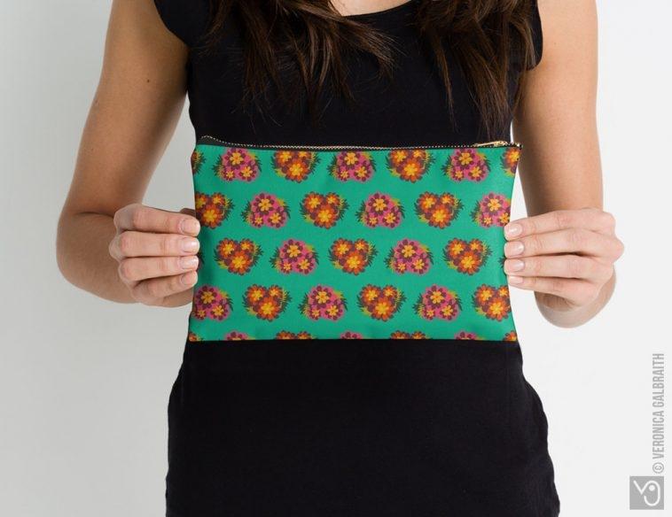 Veronica Galbraith • Surface Pattern Designer • Studio Pouches • Redbubble