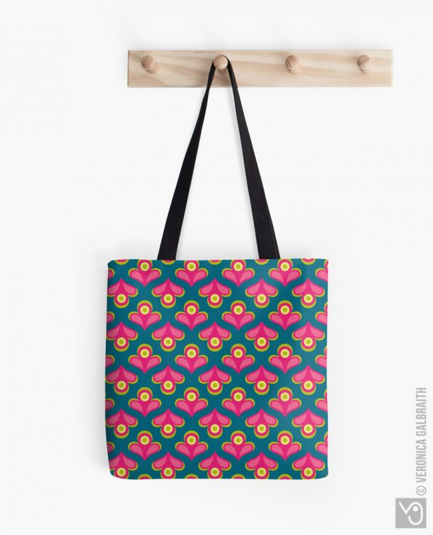 Veronica Galbraith • Surface Pattern Designer • Tote Bags • Redbubble