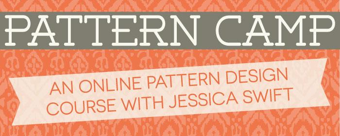 Pattern Camp with Jessica Swift   Pitter Pattern