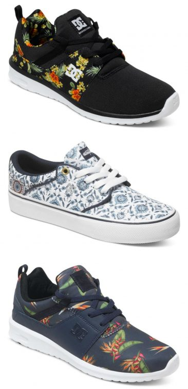 DC Shoes - Patterned Trainers | Pitter Pattern