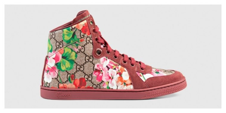 Gucci - Patterned Trainers | Pitter Pattern