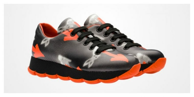 Prada - Patterned Trainers | Pitter Pattern