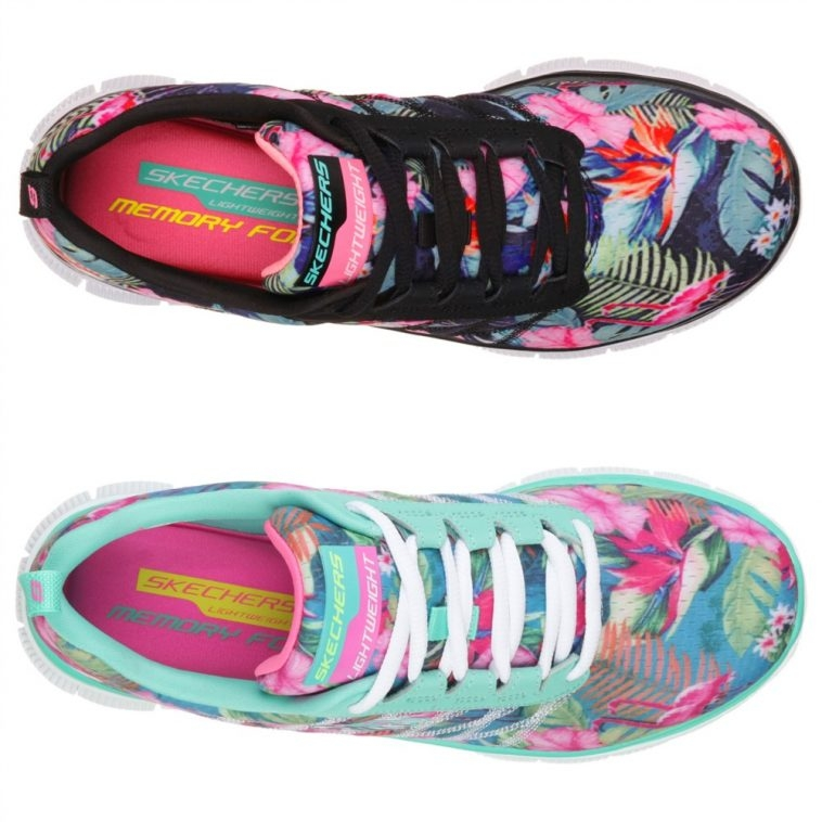 Skechers - Patterned Trainers | Pitter Pattern