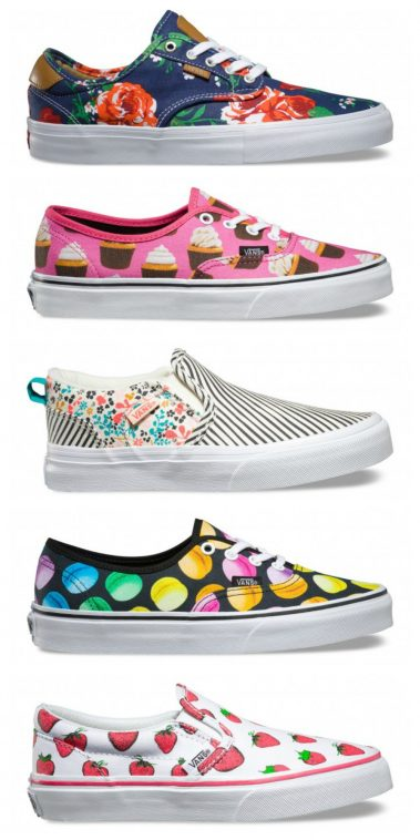 Vans - Patterned Trainers | Pitter Pattern [1]