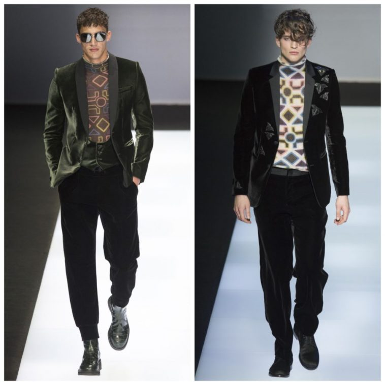 Emporio Armani's A/W 16/17 collection [4] | Pitter Pattern