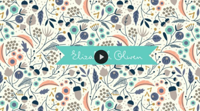 Skillshare class | Introduction to Designing Repeat Patterns in Illustrator with Elizabeth Olwen | Pitter Pattern