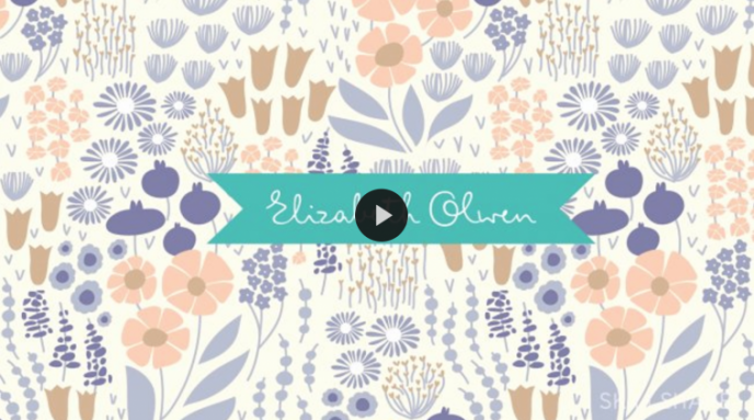 Skillshare class | Pattern Design: Bring Your Artwork to Life on Products with Elizabeth Olwen | Pitter Pattern