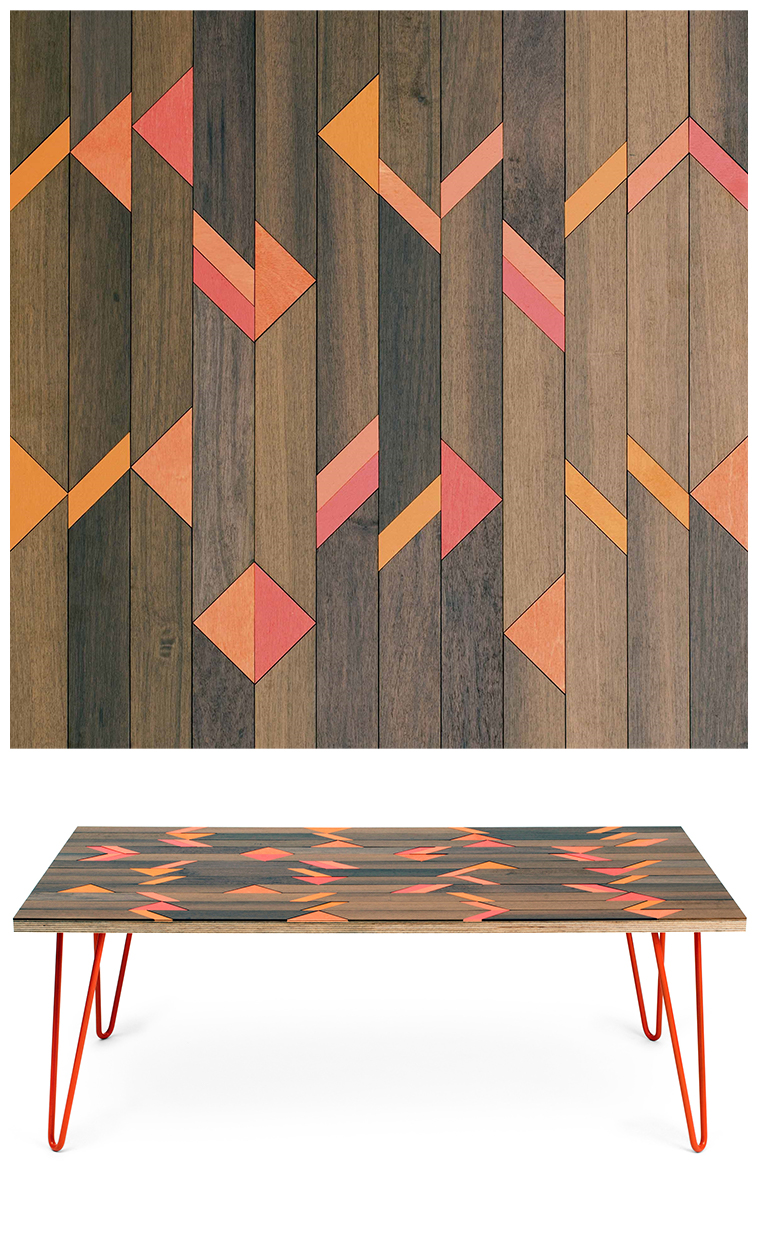 02SI - Inlaid coffee tables by Metier | Pitter Pattern