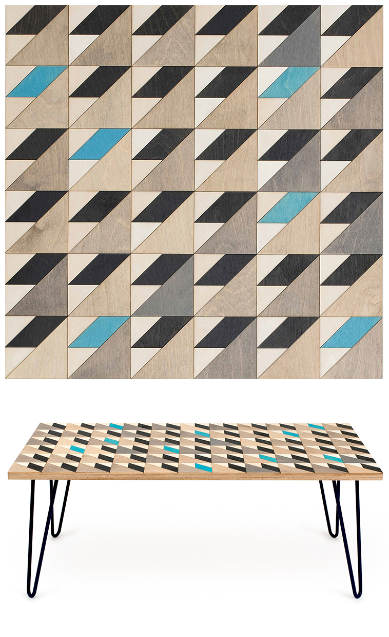 06SI - Inlaid coffee tables by Metier | Pitter Pattern