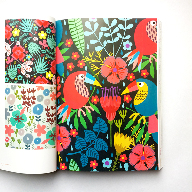 Print & Pattern Nature book [Carol Robinson] | Pitter Pattern
