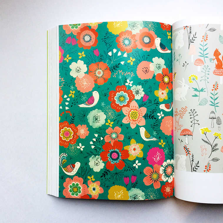 Print & Pattern Nature book [Rebecca Jones] | Pitter Pattern