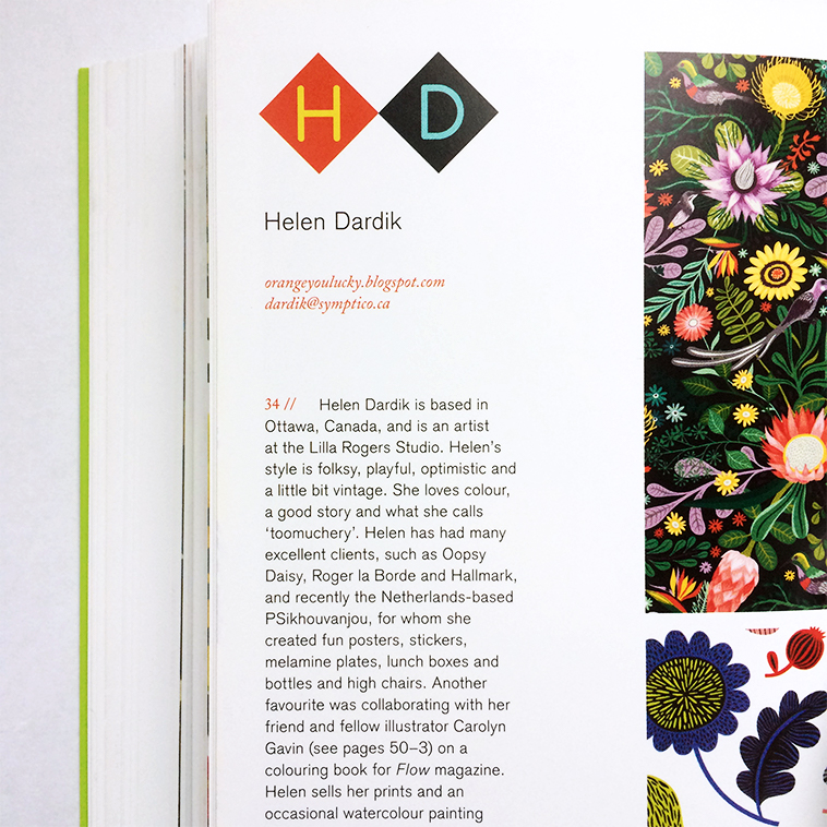 Print & Pattern Nature book [Helen Dardik - Bio] | Pitter Pattern