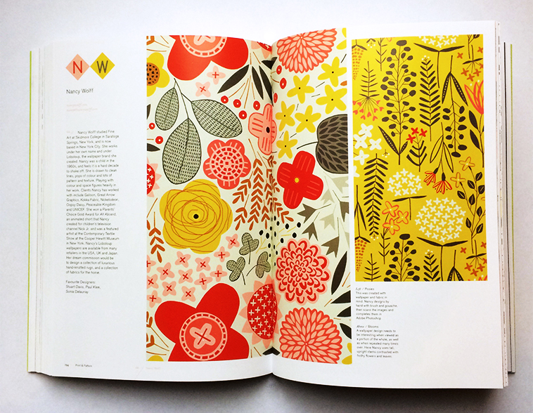 Print & Pattern Nature book [Nancy Wolff] | Pitter Pattern