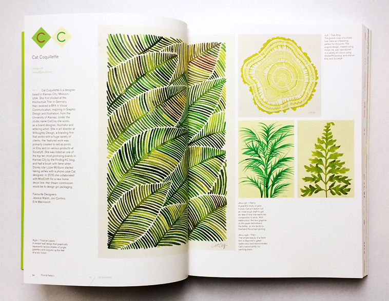 Print & Pattern Nature book [Cat Coquillette] | Pitter Pattern