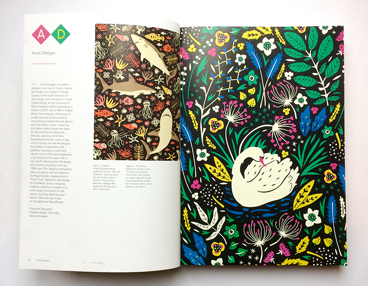 Print & Pattern Nature book [Anna Deegan] | Pitter Pattern