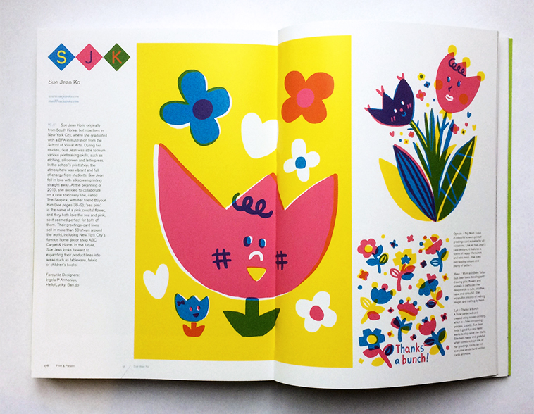 Print & Pattern Nature book [Sue Jean Ko] | Pitter Pattern