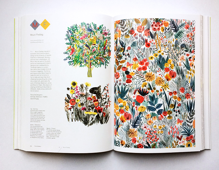 Print & Pattern Nature book [Mouni Feddag] | Pitter Pattern