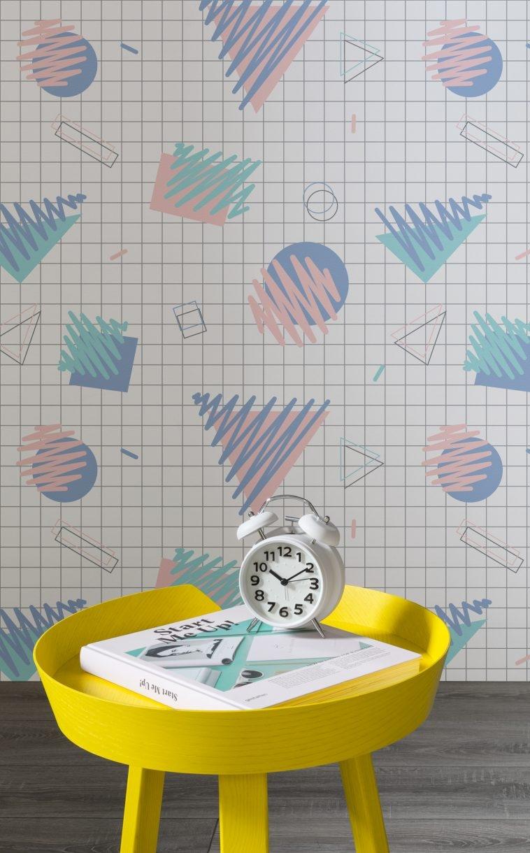 80s Wallpaper - Memphis Style [8]   Pitter Pattern
