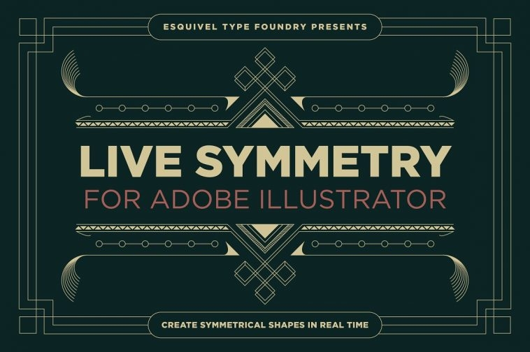 Design patterns with LiveSymmetry for Adobe Illustrator | Pitter Pattern
