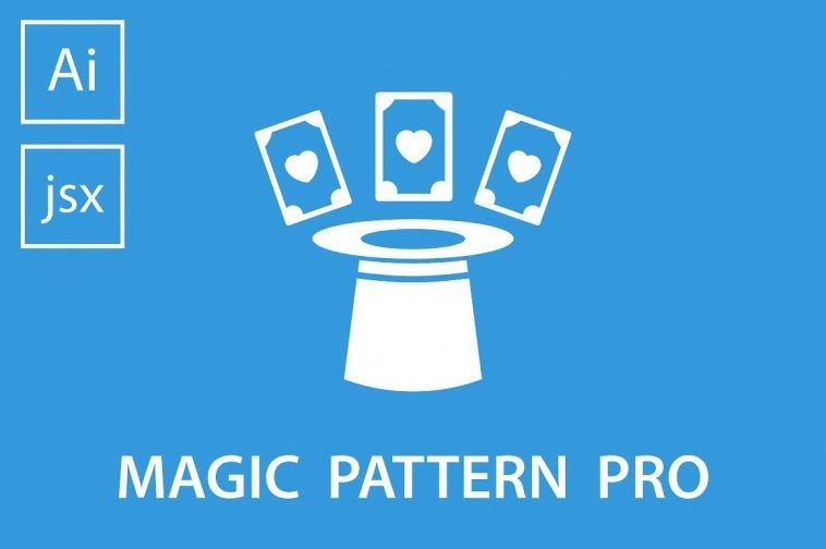 Design patterns with Magic Pattern Pro Illustrator script | Pitter Pattern
