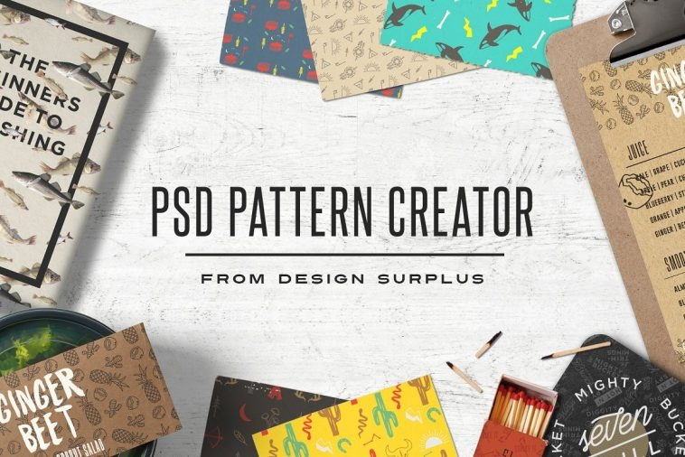 Design patterns with PSD Pattern Creator | Pitter Pattern