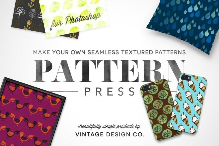 Design patterns with PatternPress - Pattern Creator | Pitter Pattern