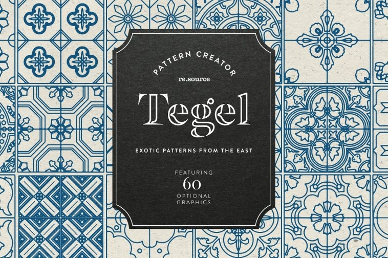 Design patterns with Tegel - Pattern Pack | Pitter Pattern