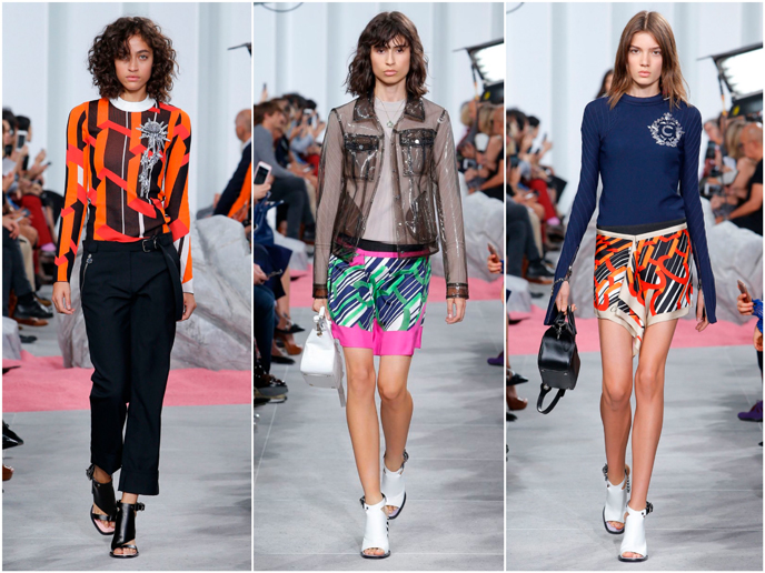 Carven - Fashion prints S/S 17 collection | Pitter Pattern