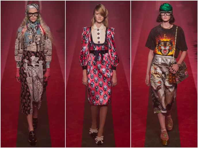 Gucci - Fashion prints S/S 17 collection | Pitter Pattern