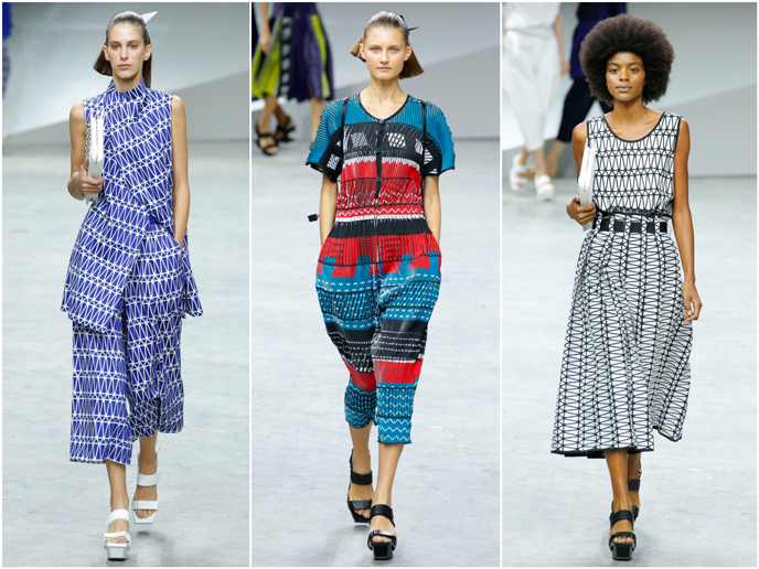 Issey Miyake - Fashion prints S/S 17 collection | Pitter Pattern