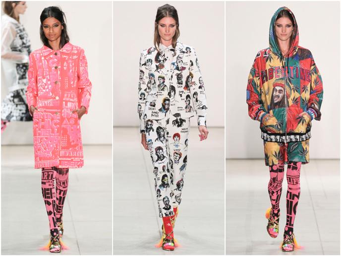 Libertine - Fashion prints S/S 17 collection | Pitter Pattern