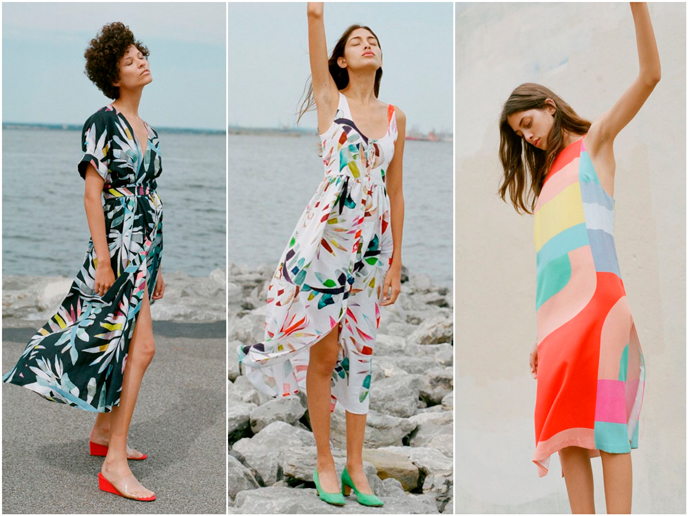 Mara Hoffman - Fashion prints S/S 17 collection | Pitter Pattern