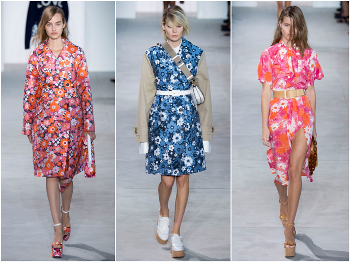 Michael Kors Collection - Fashion prints S/S 17 collection | Pitter Pattern