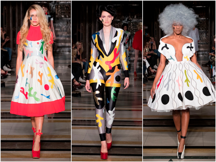 Pam Hogg - Fashion prints S/S 17 collection | Pitter Pattern