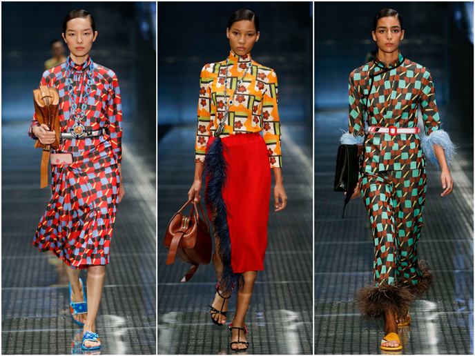 Prada - Fashion prints S/S 17 collection | Pitter Pattern
