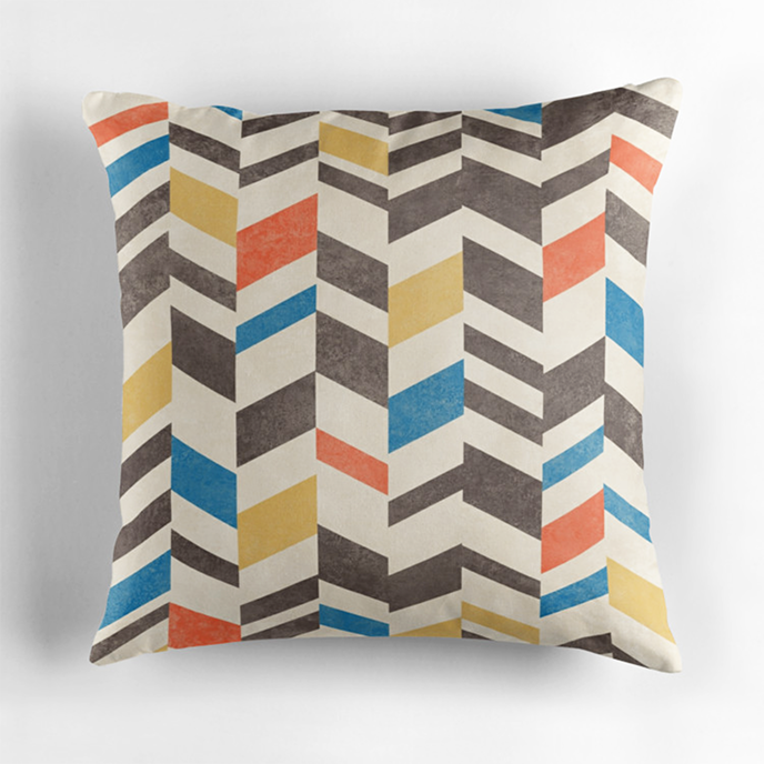 ChunkyDesign - Geometric cushions at Redbubble | Pitter Pattern