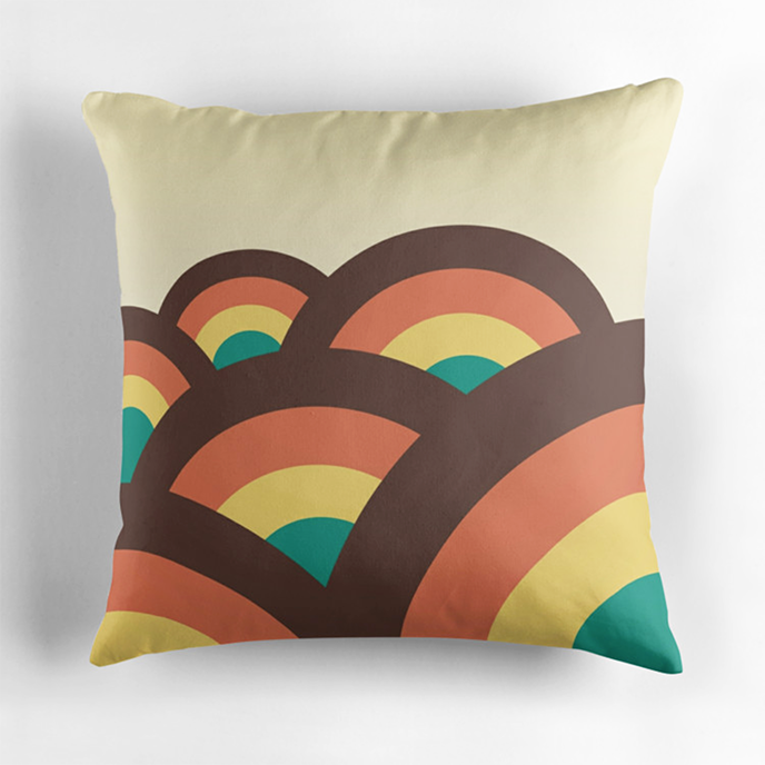 Dellan - Geometric cushions at Redbubble | Pitter Pattern