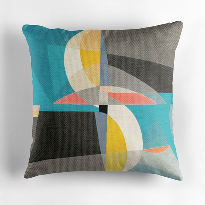 FernandoVieira - Geometric cushions at Redbubble | Pitter Pattern