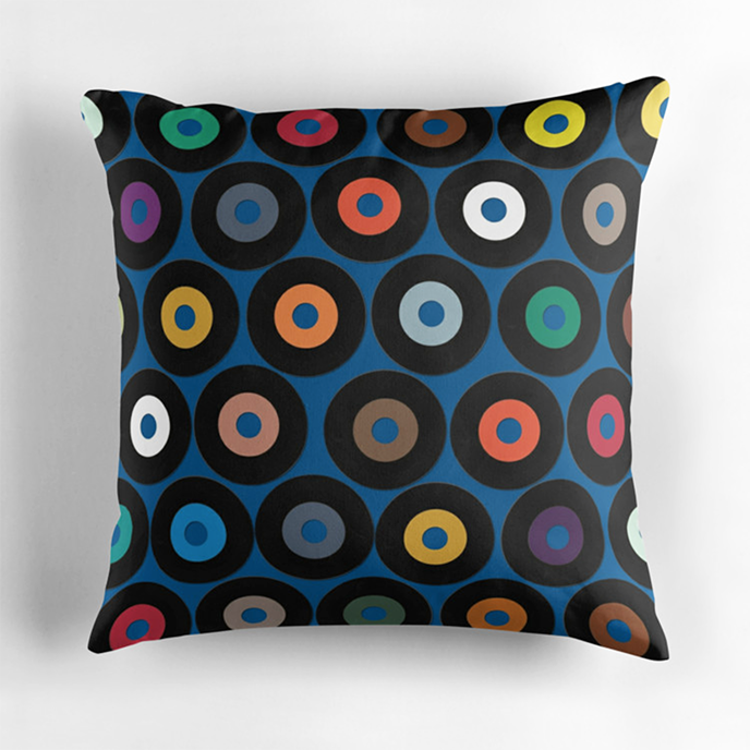 Sharon Turner - Geometric cushions at Redbubble | Pitter Pattern